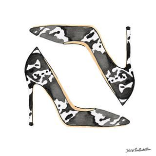 Drawn shoe illustrated Images #drawing best #illustrationoftheday #art