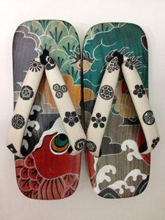 Drawn shoe japanese Geta Pokkuriーぽっくり Shoes Pinterest