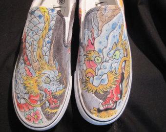 Drawn shoe japanese #9