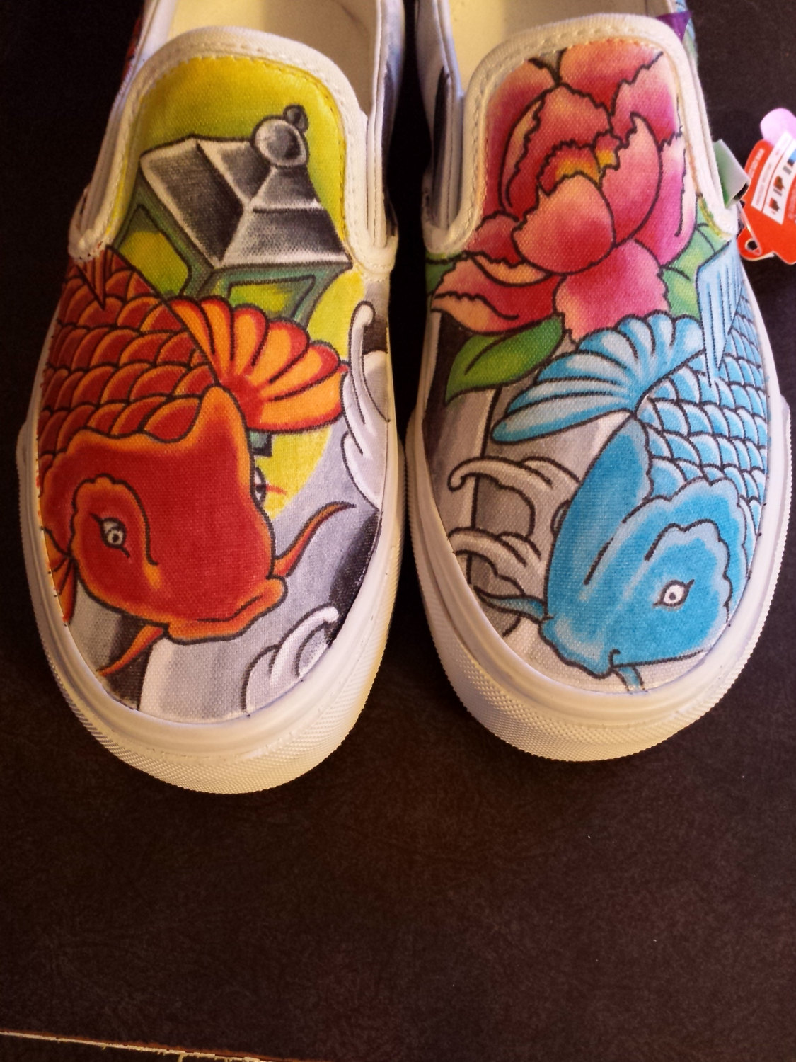 Drawn shoe japanese Like These hand fish shoes