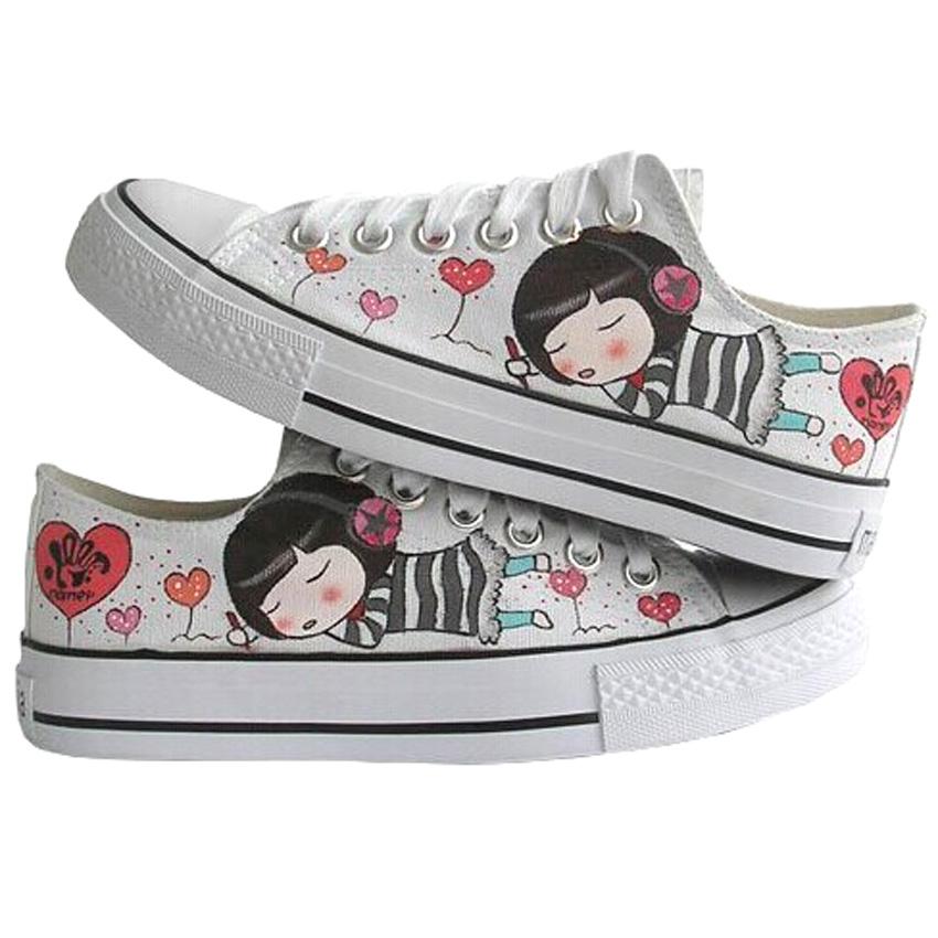 Drawn shoe japanese Aliexpress Lace Low Buy Women's