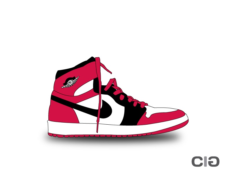 Drawn shoe jordan 1 Drawings CigDesigns: month so