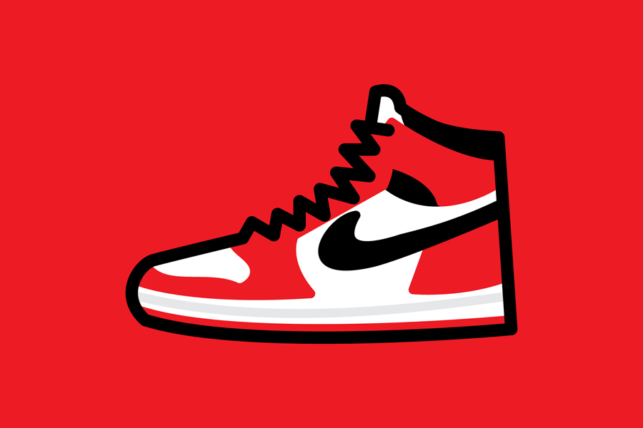 Drawn shoe jordan 1 // Focus: by Collector Ellis