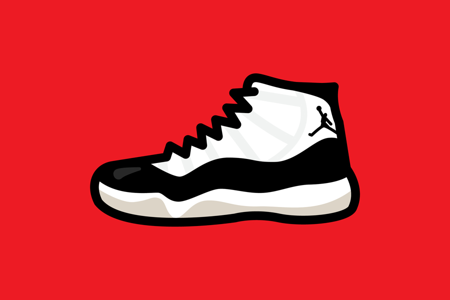 Drawn shoe jordan 11 Sole Artist by KICK Rhyen