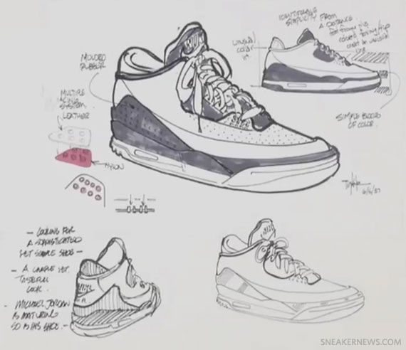 Drawn shoe jordan 3 Zapatos on best Hatfield images