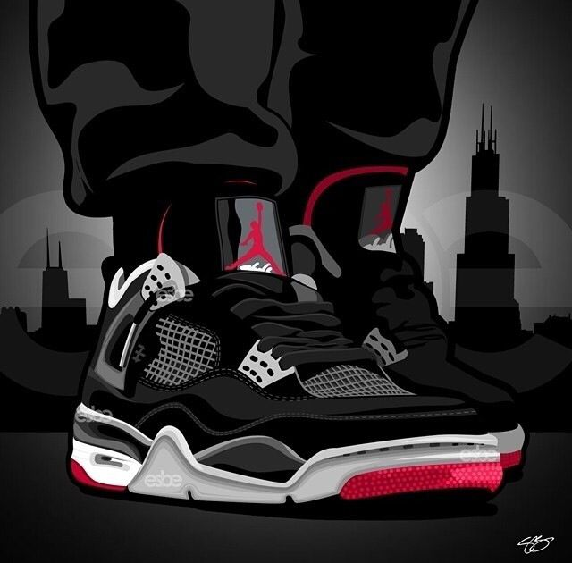 Drawn shoe jordan 3 Best images 127 TWIN ☆ART☆