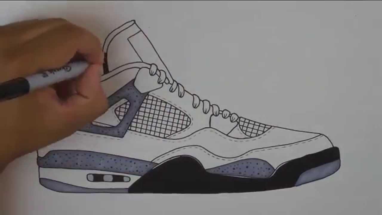 Drawn pice jordan To How Air w/ Stencil