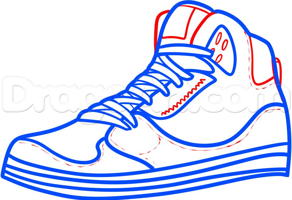 Drawn shoe jordan 5 #9