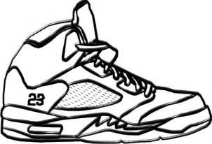 Drawn shoe jordan 5 #3