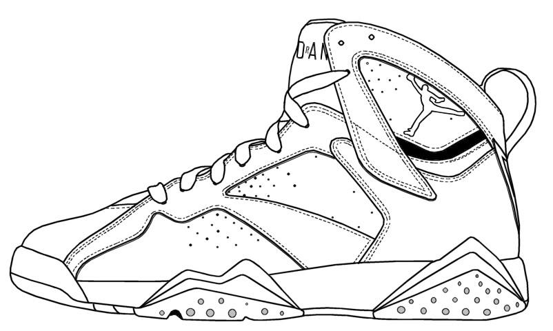 Drawn shoe jordan 7 Jordan topic OFFICIAL 5th [[