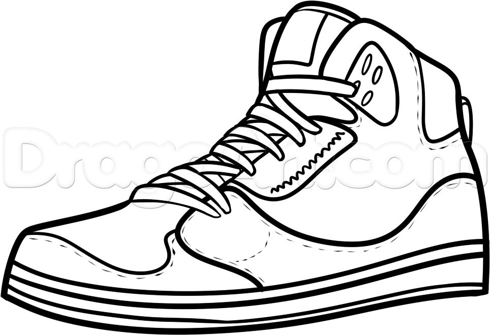Drawn sneakers easy Jordans Step Culture draw step