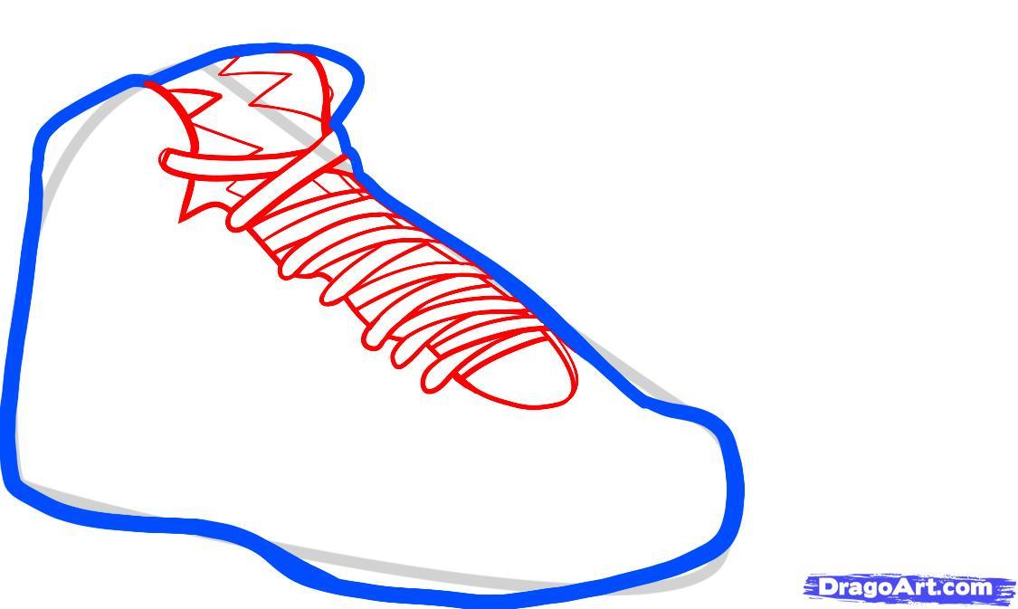 Drawn sneakers easy Air Draw Bordeaux draw jordan