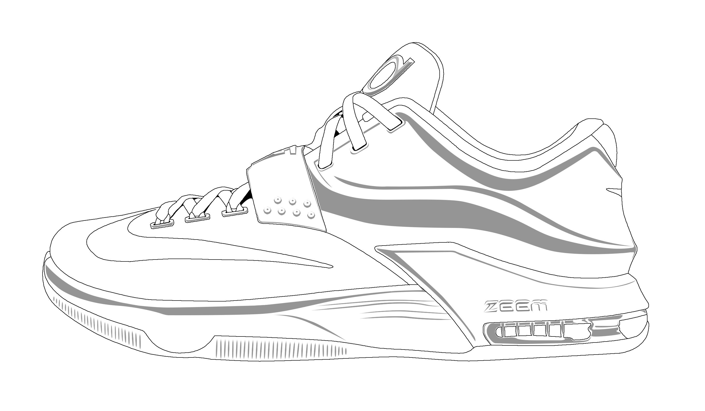 Drawn shoe jordan 7 Jordan bboykai91; ~ retro kd