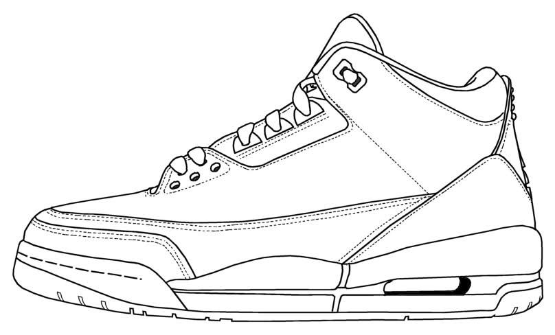 Drawn sneakers jordan 3 Jordan Air Painting  III