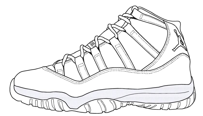 Drawn shoe jordan retro 11 Beat  Restorations 2