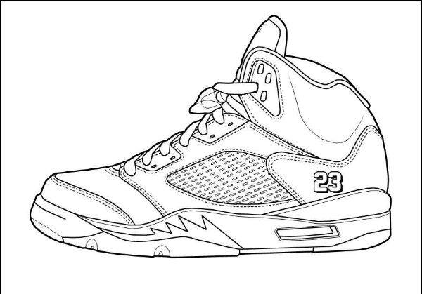 Drawn shoe jordan retro Drawing  jordan air jordan