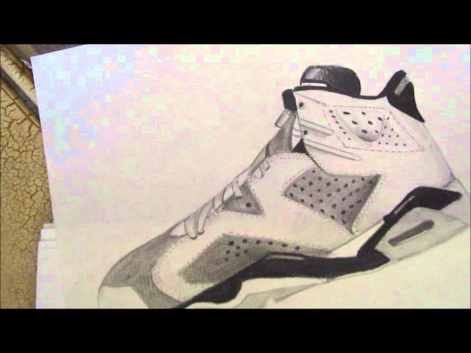 Drawn shoe jordan retro Hand 5&6!! retro Jordan Hand