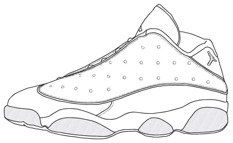 Drawn shoe jordan retro Jordan Pages Coloring Pages Coloring