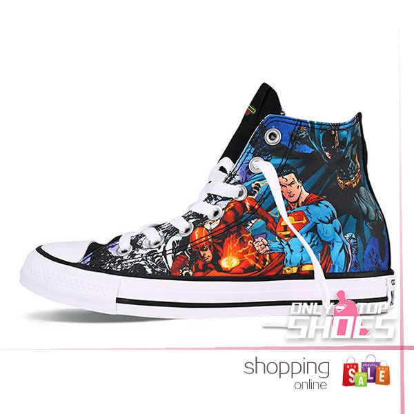 Drawn shoe justice league The For chuck Justice shoeswiz