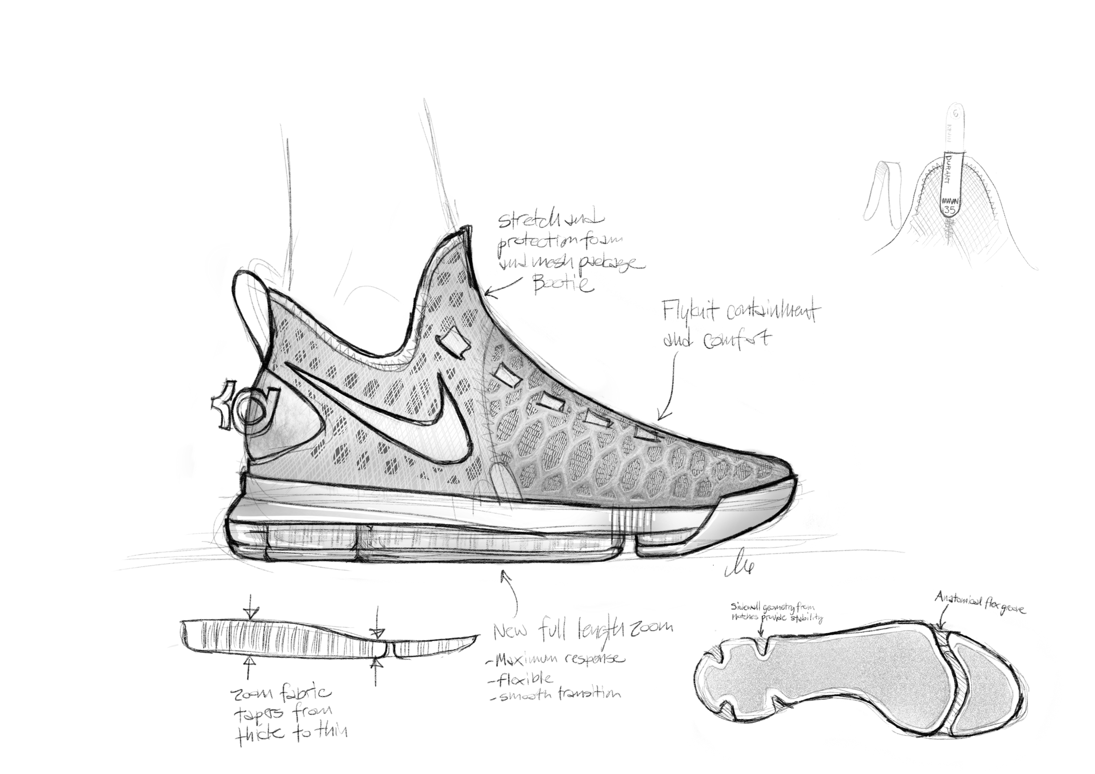Drawn shoe kd shoe News Shoe Kevin LO Durant's