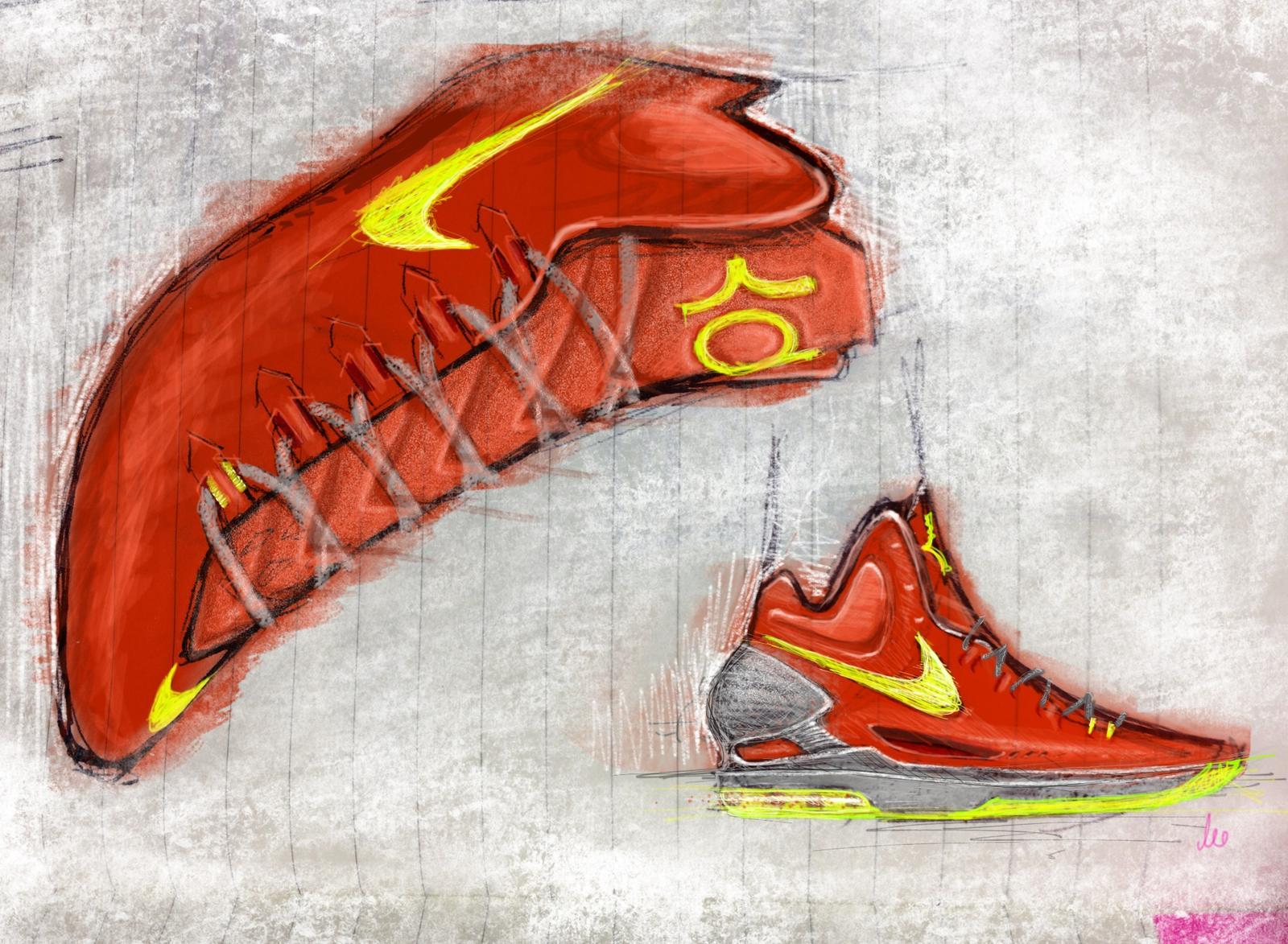 Drawn shoe kd shoe Nike KD shoe Unveiling Image