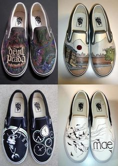 Drawn shoe kid cudi  This Hand vans Style