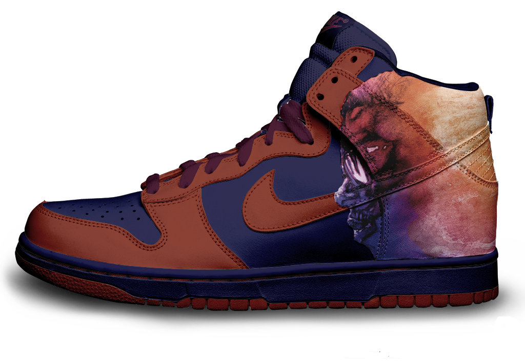 Drawn shoe kid cudi DeviantArt Nike Nike Dudes on