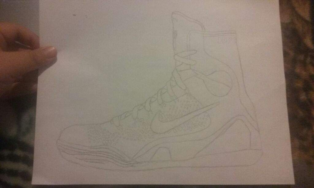 Drawn shoe kobe 9 Drawing should do and what