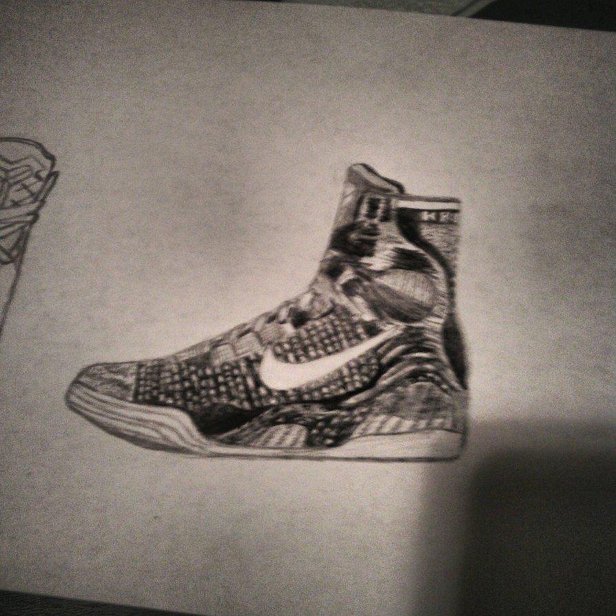 Drawn shoe kobe 9 By on Elite Kobe Drawing