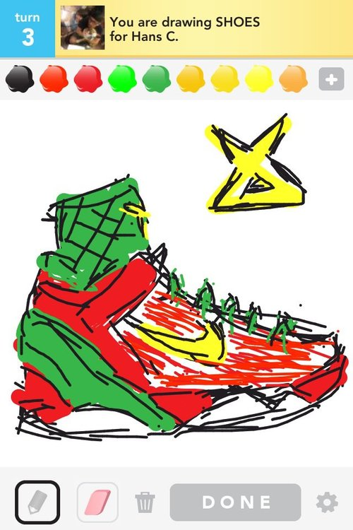 Drawn shoe kobe 9 Drawing nike 9  kobe