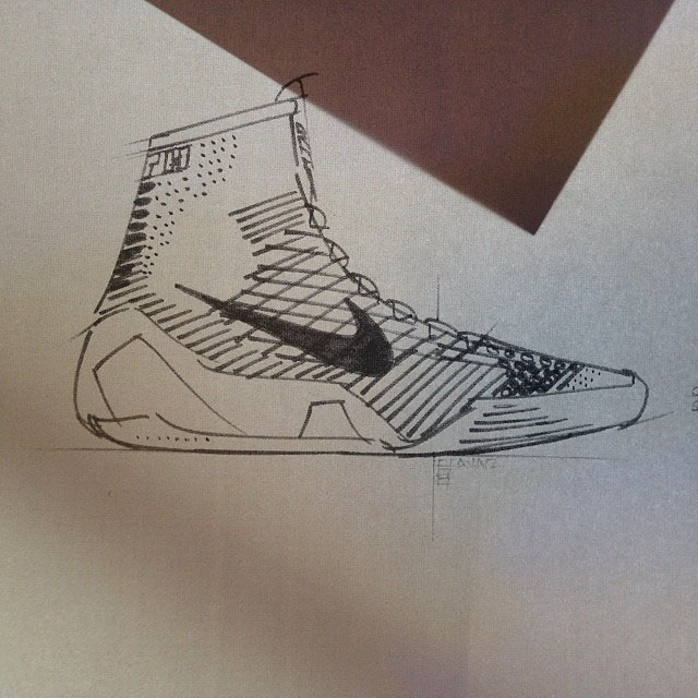Drawn shoe kobe 9 Sketch Kobe Eric Event Kobe