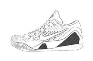 Drawn shoe kobe 9 9 kobe 9 drawing drawing