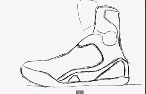 Drawn shoe kobe 9 Speed Painting at 03 Screen