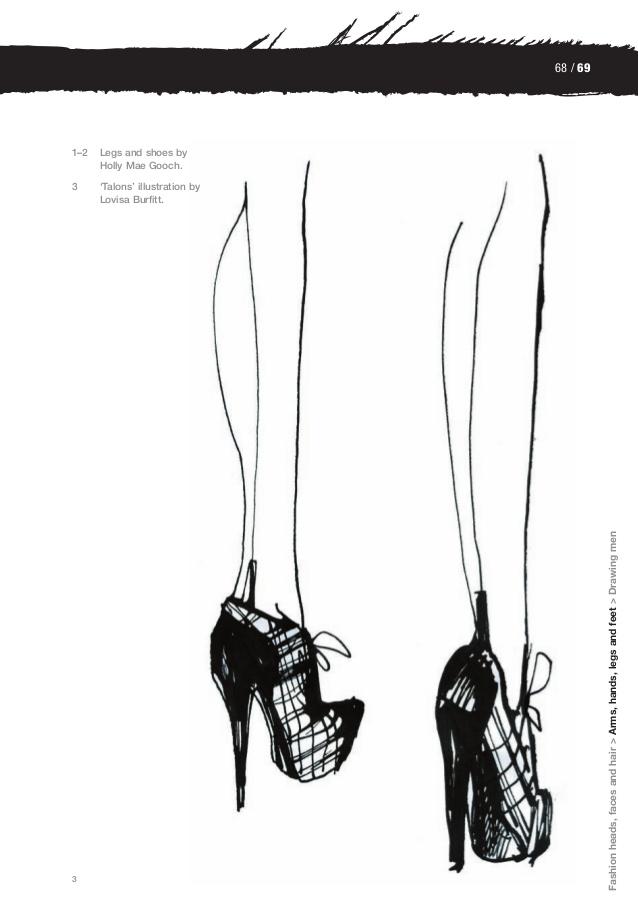 Drawn shoe male #7