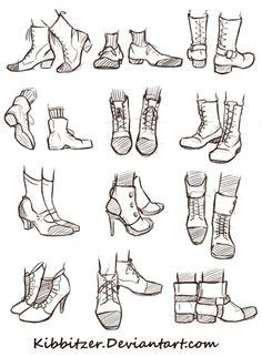 Drawn shoe male #6