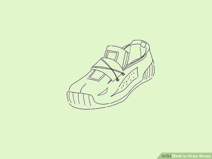 Drawn shoe male #5