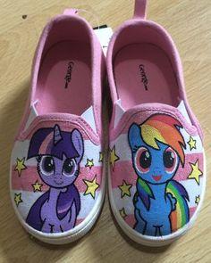 Drawn shoe mlp Little Batman Custom Pie shoes