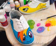 Drawn shoe mlp Pintados Drawn My Hand