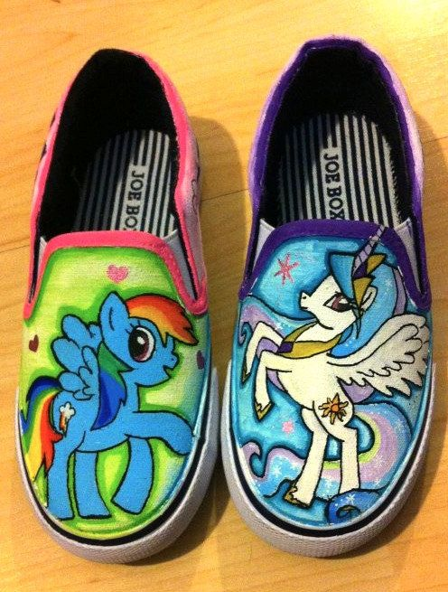 Drawn shoe mlp #9