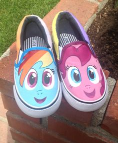 Drawn shoe mlp Painted Chalupa Find shoes Batman