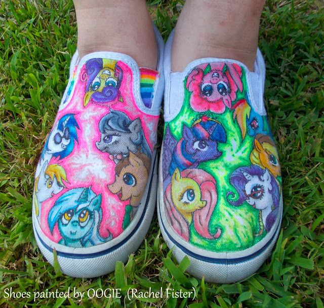 Drawn shoe mlp My Shoes Find Painted My
