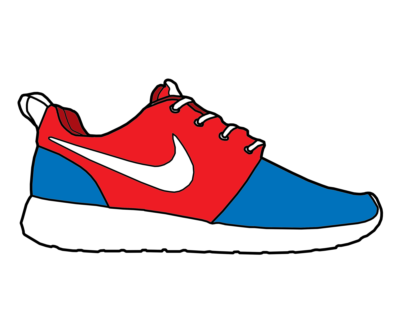 Drawn shoe nike sign MattisamazingPS Run by MattisamazingPS 'Pre