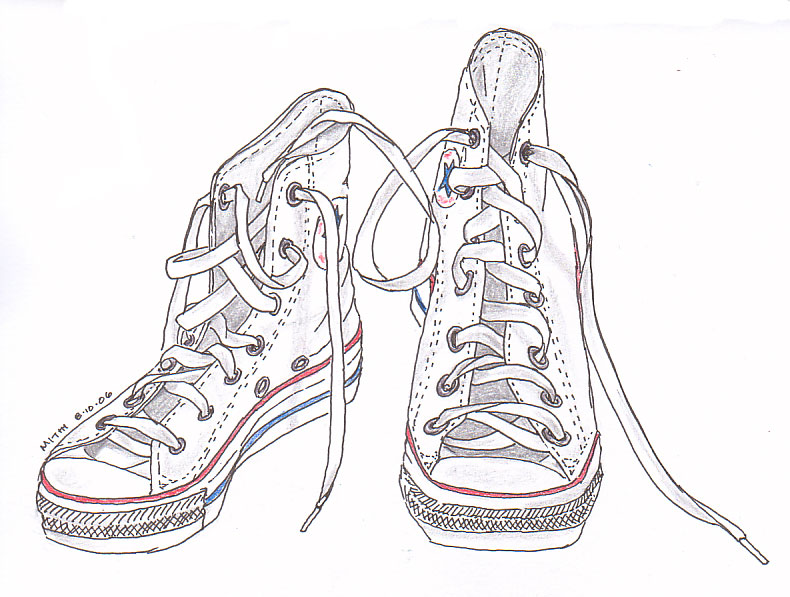 Drawn shoe old pair Draw shoes to old draw