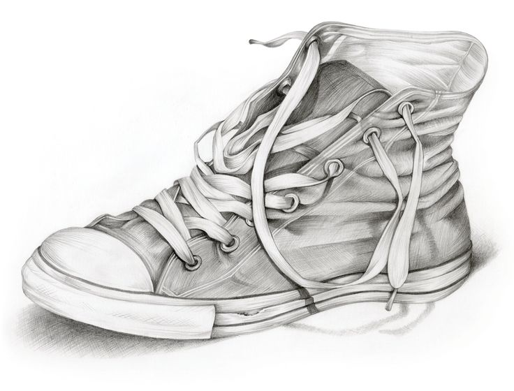 Drawn converse shoe Drawing & Drawing Pictures 25+
