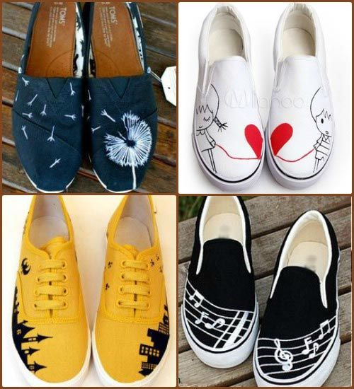Drawn shoe old shoe #10