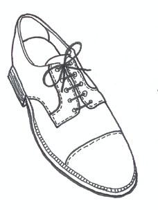 Drawn shoe oxford shoe #13