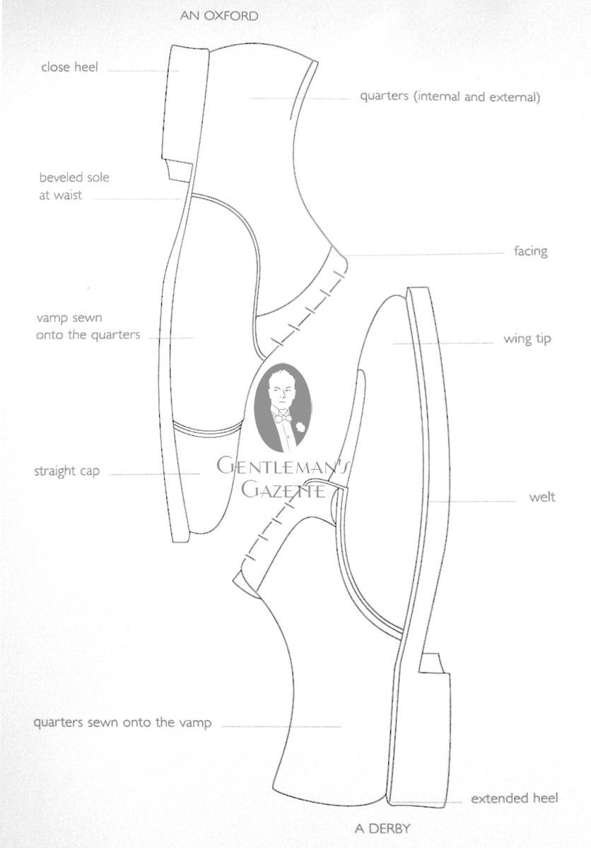 Drawn shoe oxford shoe #15