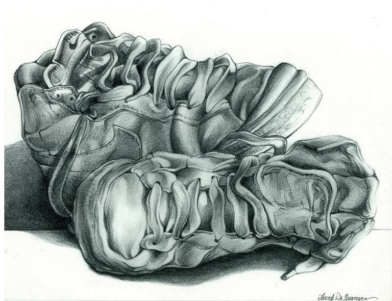 Drawn shoe pencil Task tonal 17 tonal Best