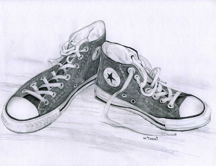 Drawn shoe pencil sketch 20 drawing best Journeys Pinterest