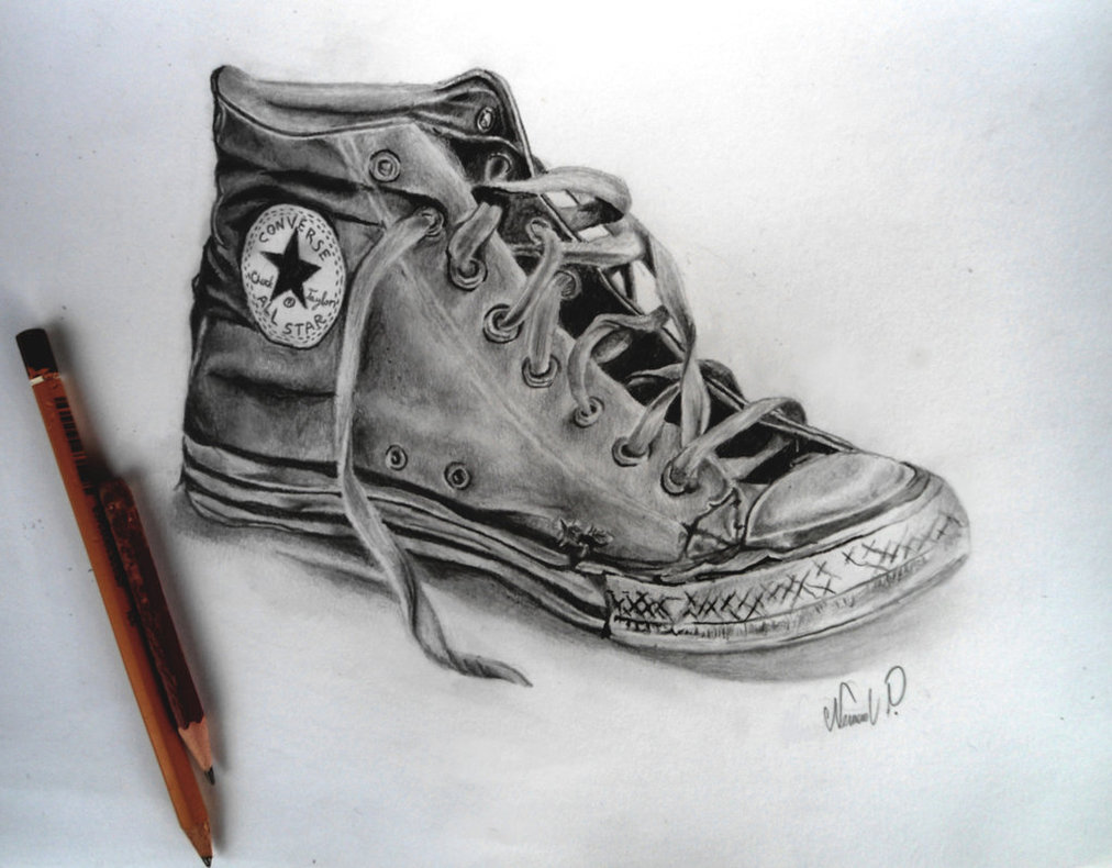 Drawn shoe pencil sketch 43 Search best on drawings